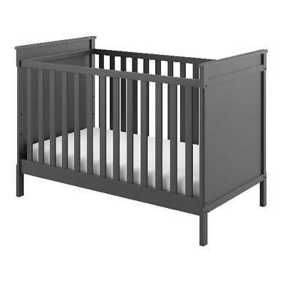 Baby Nursery 3-in-1 Convertible Crib Toddler Bed