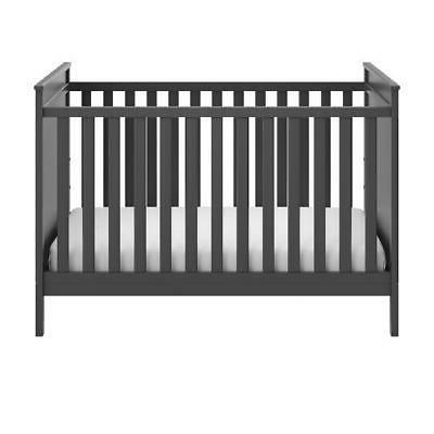 Baby 3-in-1 Convertible Crib Toddler Bed Day Bed