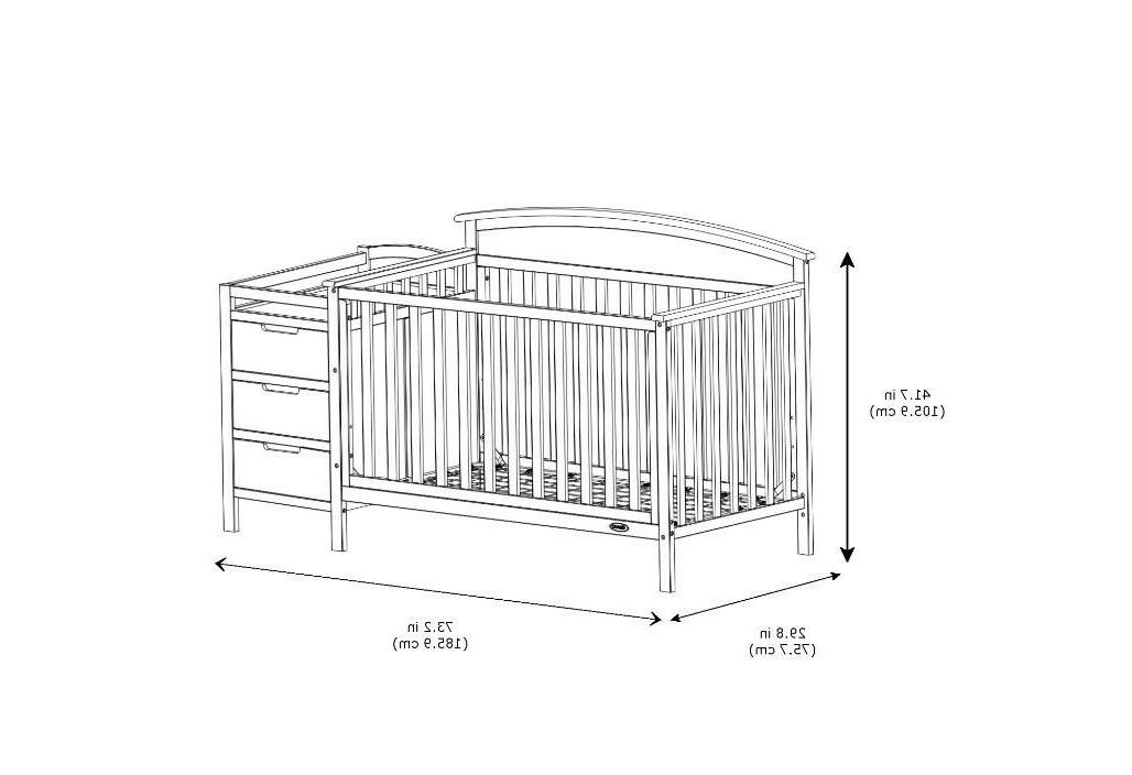 Storkcraft 5-In-1 Crib And Pebble