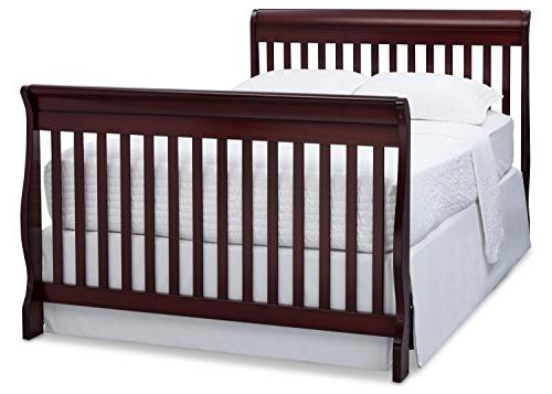 Delta Children 4-in-1 Convertible Crib, Espresso Cherry