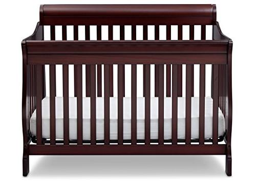 Delta Children Convertible Baby Crib, Cherry