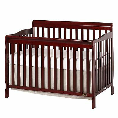 CONVERTIBLE BABY BED 5-in-1 FULL SIZE NURSERY