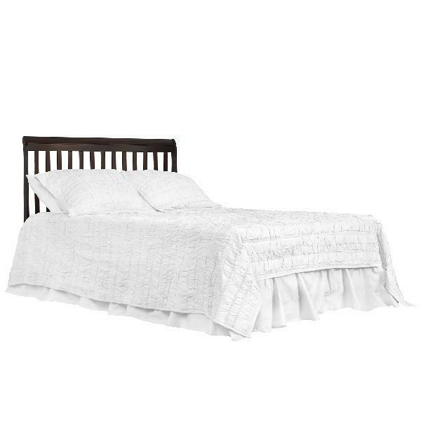 Convertible Baby Bed 5-in-1 Full Size Crib W MATTRESS Bedroom