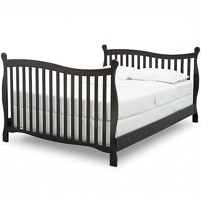 Convertible Baby Infant 4-in-1 Toddler Kids Bed New