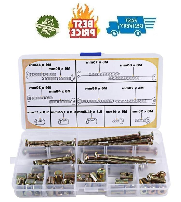 crib screws parts replacements m6 baby bed