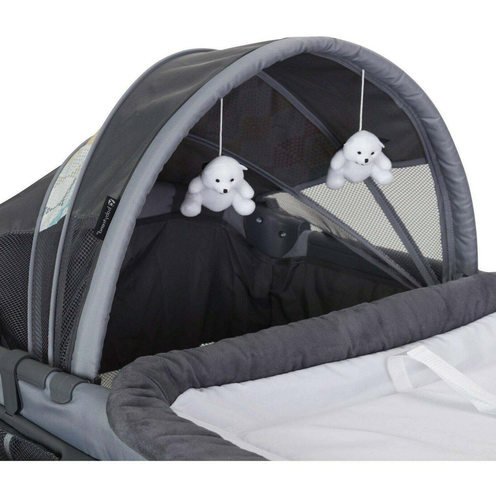 Baby Deluxe II Nursery Center Cot Crib Bassinet