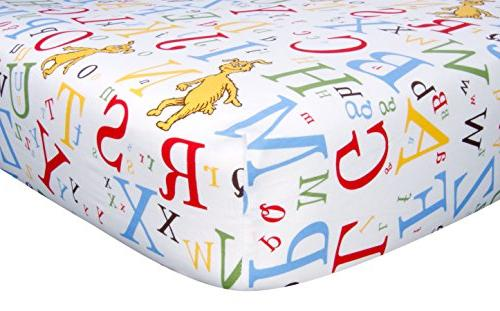 dr seuss fitted crib sheet
