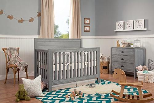 DaVinci Fairway Convertible Crib, Rustic Grey