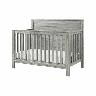 fairway 4 in 1 convertible crib rustic