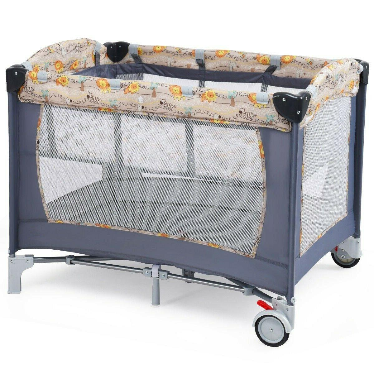 Folding Toys Portable Bed Changer