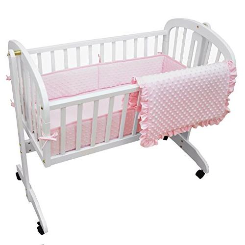 heavenly soft minky dot cradle