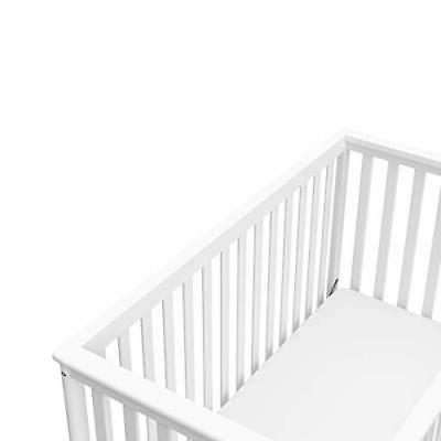 Hillcrest Crib, White, to Toddler Bed Da