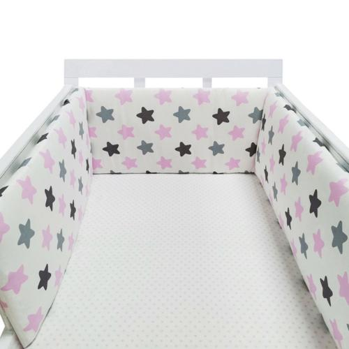 Infant Cribs Safe Thick Padded