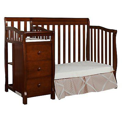 Dream Me 4-in-1 Convertible Crib and Changer