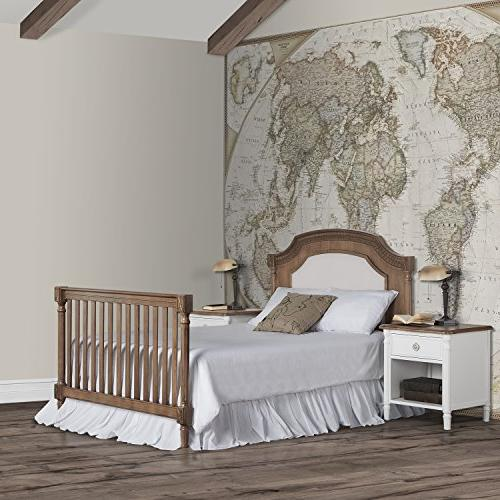 Evolur 1 Crib, Toffee with Sunbrella
