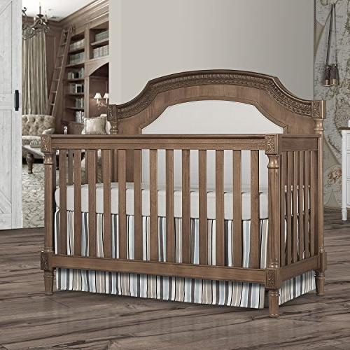 Evolur Julienne 5 in 1 Convertible Crib, with