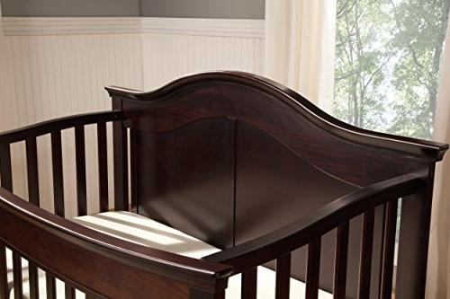 DaVinci Meadow Crib, Dark Java