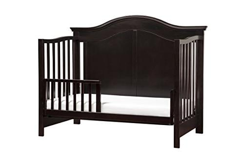 DaVinci Meadow 4-in-1 Crib, Dark Java