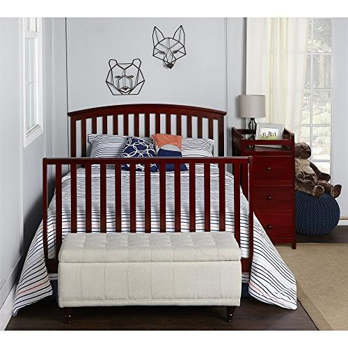 Dream 5-in-1 Convertible Crib with Changer,