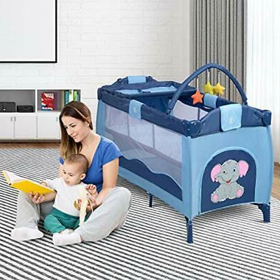 Nursery Center Playyard Crib Bassinet Bed Infant