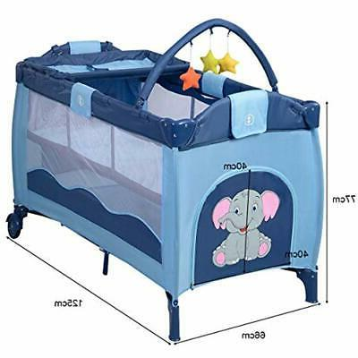 Nursery Crib Portable Bassinet Kids