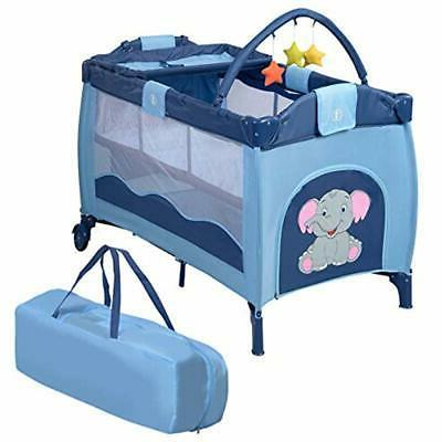 nursery center playyard baby crib set portable