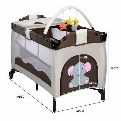 Giantex Baby Crib Set Portable Nest