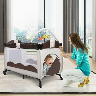 Giantex Playyard Baby Crib