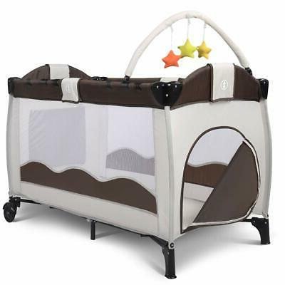 Giantex Baby Crib Set Nest