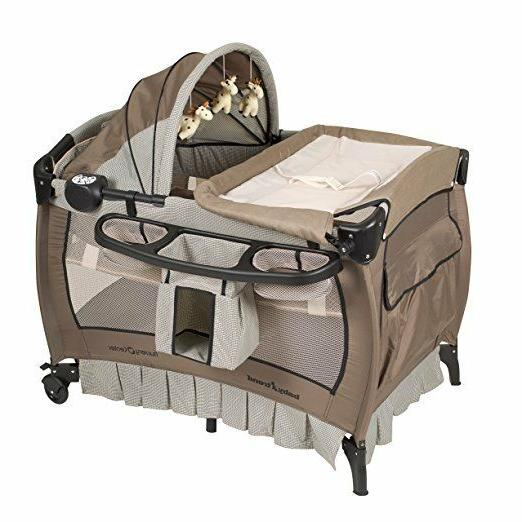 nursery playard changing bassinet music