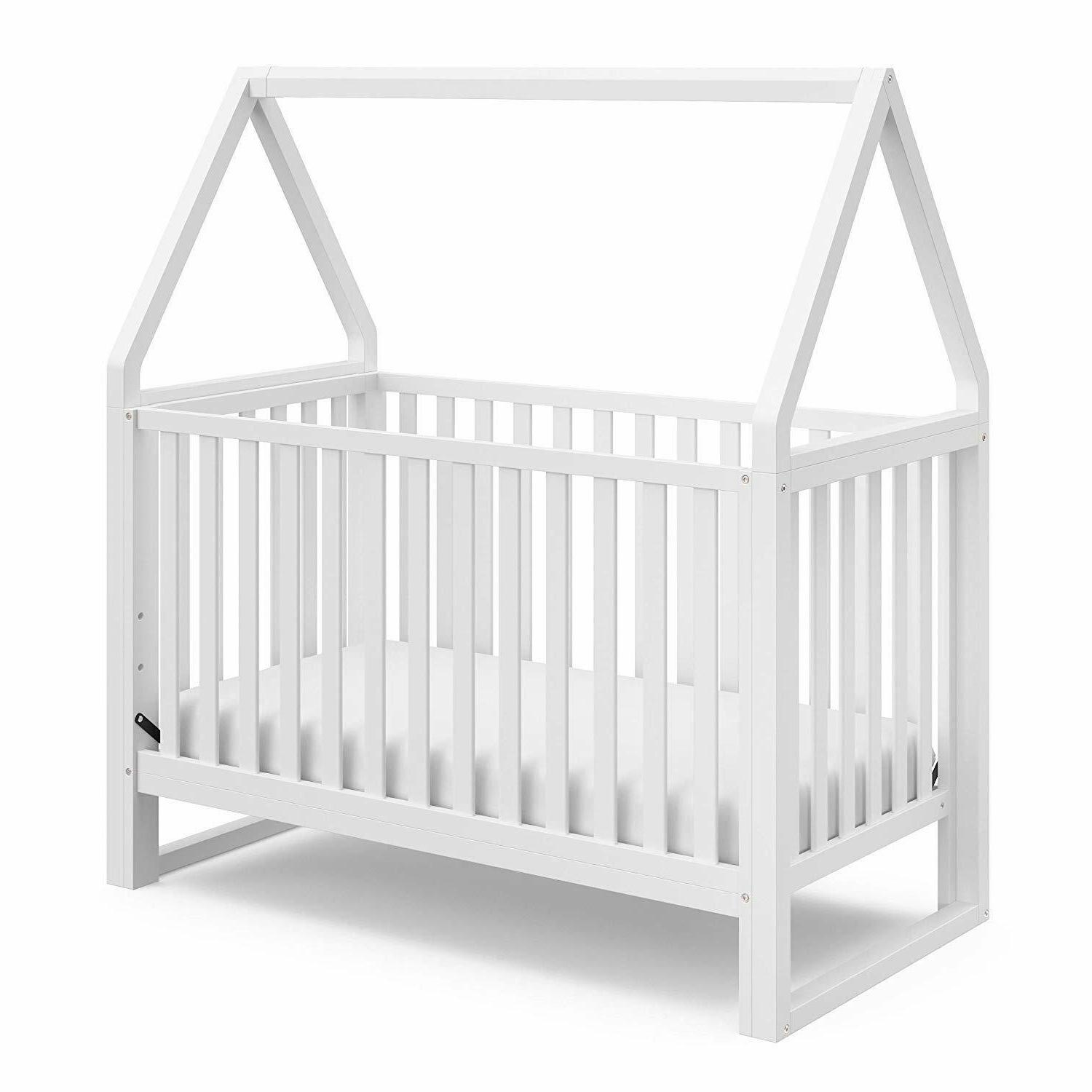 orchard 5 in 1 convertible crib white