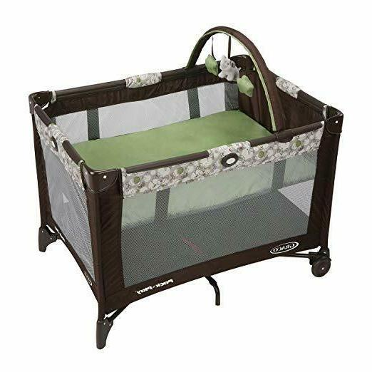 Graco Pack n Play On the Go Playard ZUBA One Baby Crib Size
