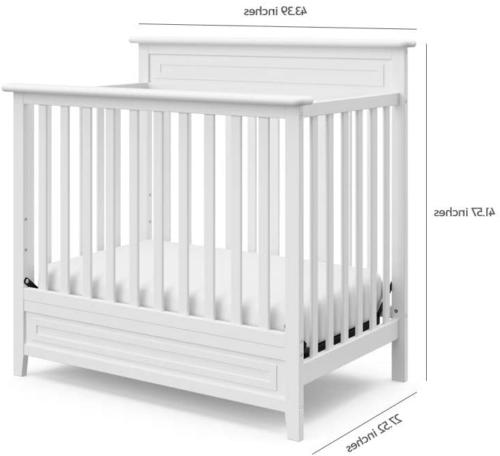 Storkcraft Convertible Mini Crib with Mattress –