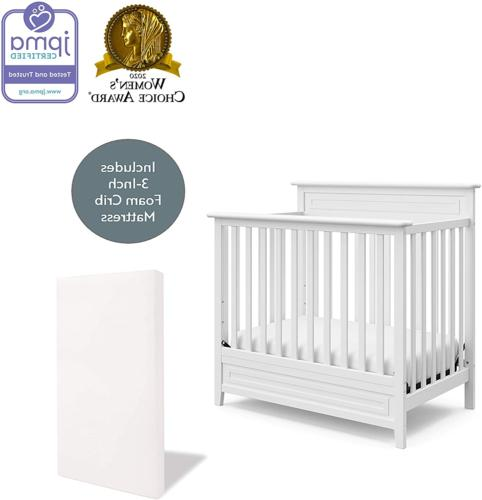 Storkcraft Petal Convertible Mini Crib Mattress –