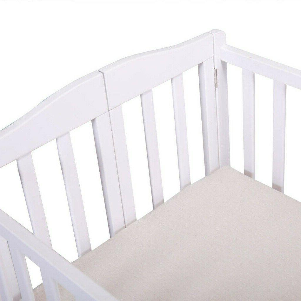 Pine Wood Bed Convertible Newborn Foldable