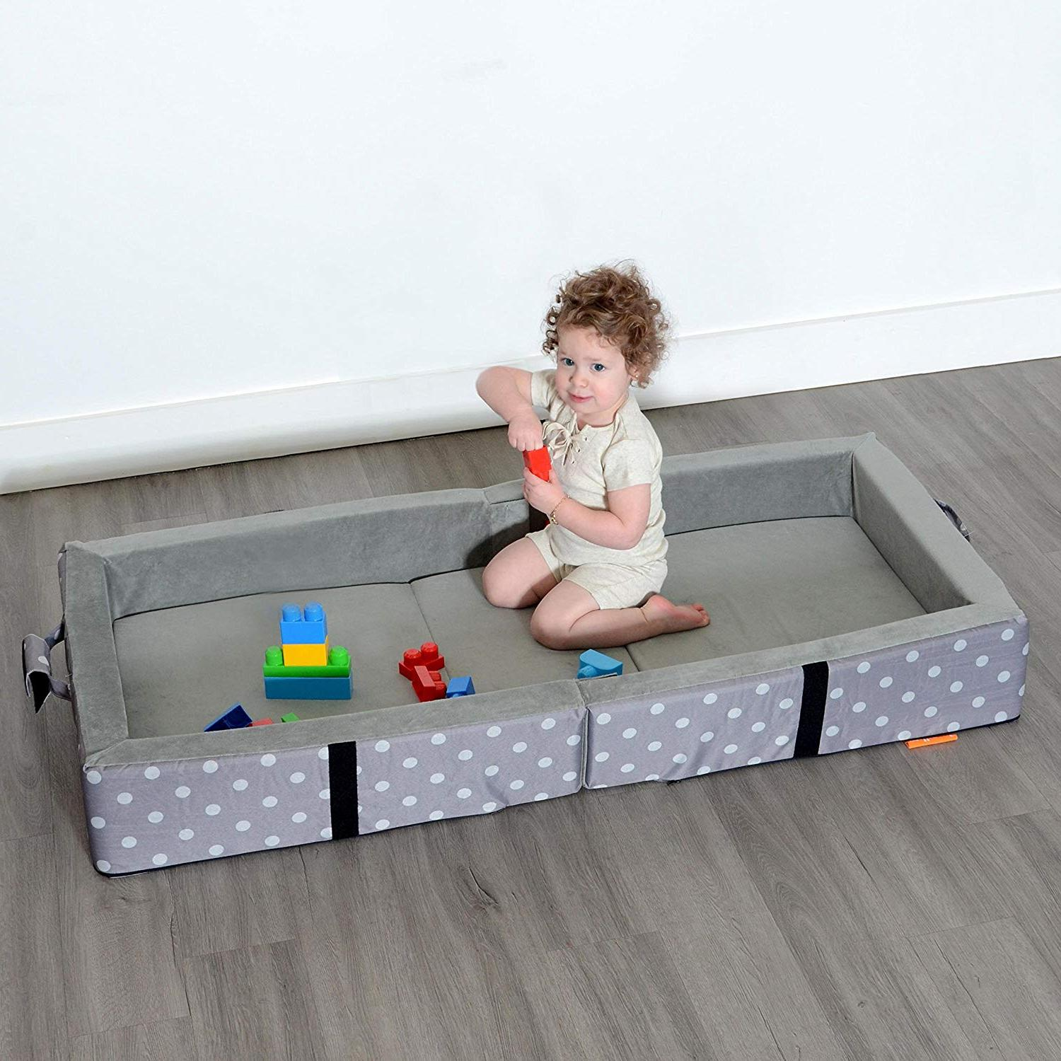 Folds for Travel Milliard Portable Toddler Bumper Bed