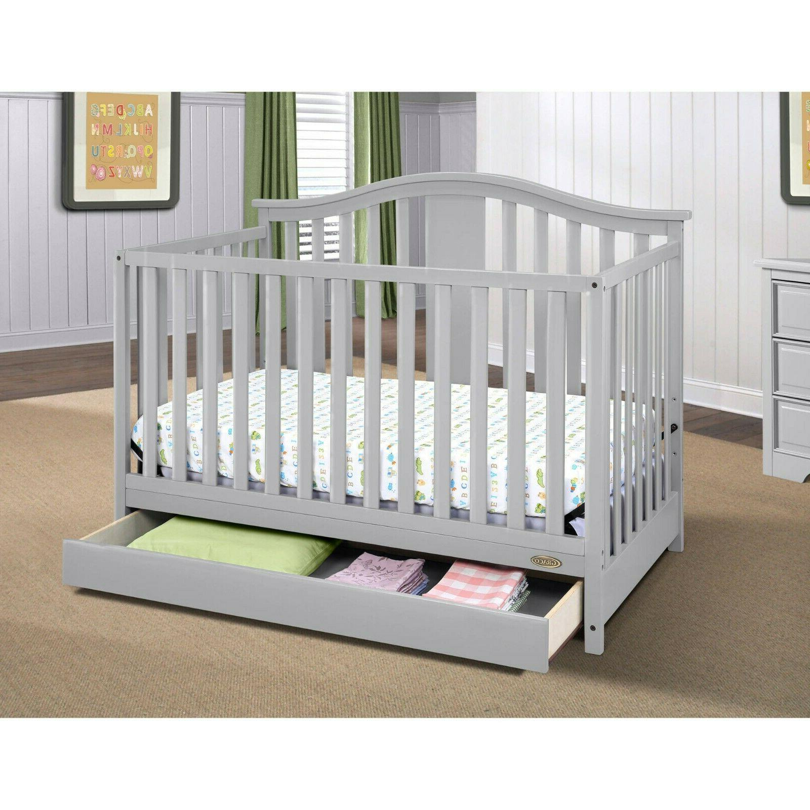 4 in 1 Convertible Baby Crib Mattress Infant Toddler Bed Nur