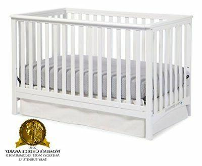 Storkcraft Hillcrest Side Convertible Crib, Easily Converts to