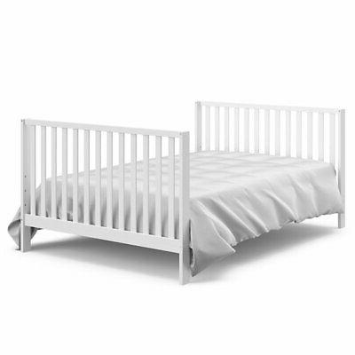 Storkcraft Orchard in 1 Canopy Crib in Pebble Gray