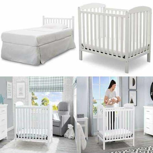 Babydoll Bedding Memory Foam Crib Mattress Topper For Toddle