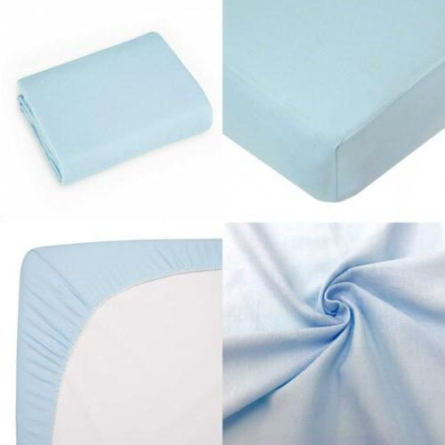 American Baby Company Supreme 100/% Cotton Jersey Knit Fitted Crib Sheet for...