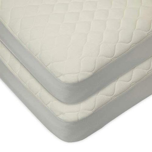 waterproof quilted crib fitted mattress