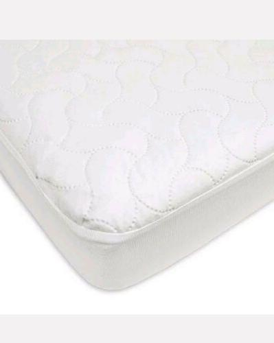 waterproof fitted crib and toddler protective mattress