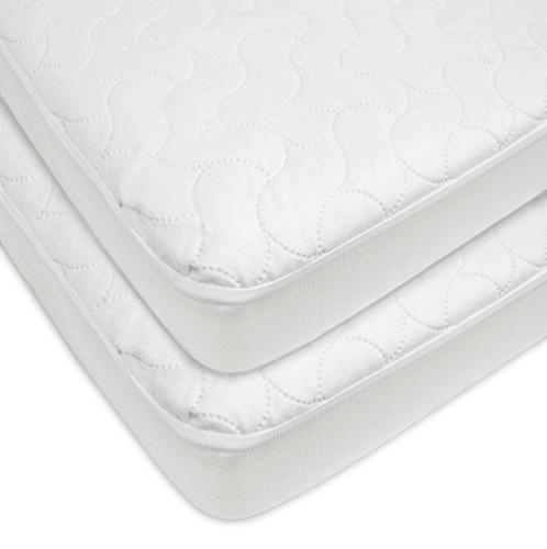 waterproof fitted quilted crib toddler
