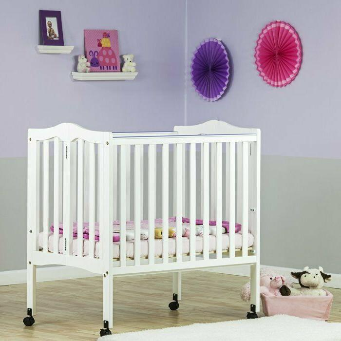 Wood Baby Crib with 2-Position