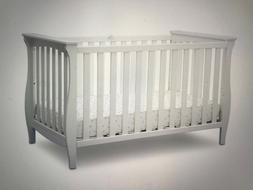 Delta Children Lancaster 3-in-1 Convertible Baby Crib, Bianc