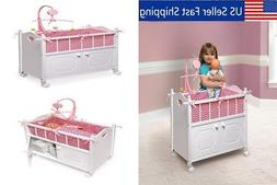 Large Bedding Cribs and Cradles for 18/20/22 Inch Baby Doll