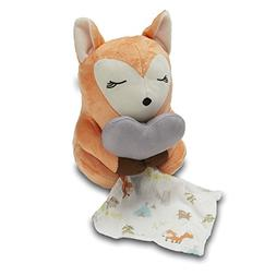 SwaddleMe Little Heartbeats Fox Soother, Red