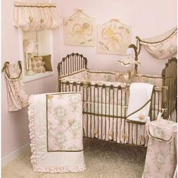 lollipops and roses 6pc crib bedding set