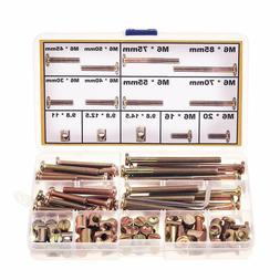 M6 Crib Screws and Bolts Replacement Hardware Kit for Baby C